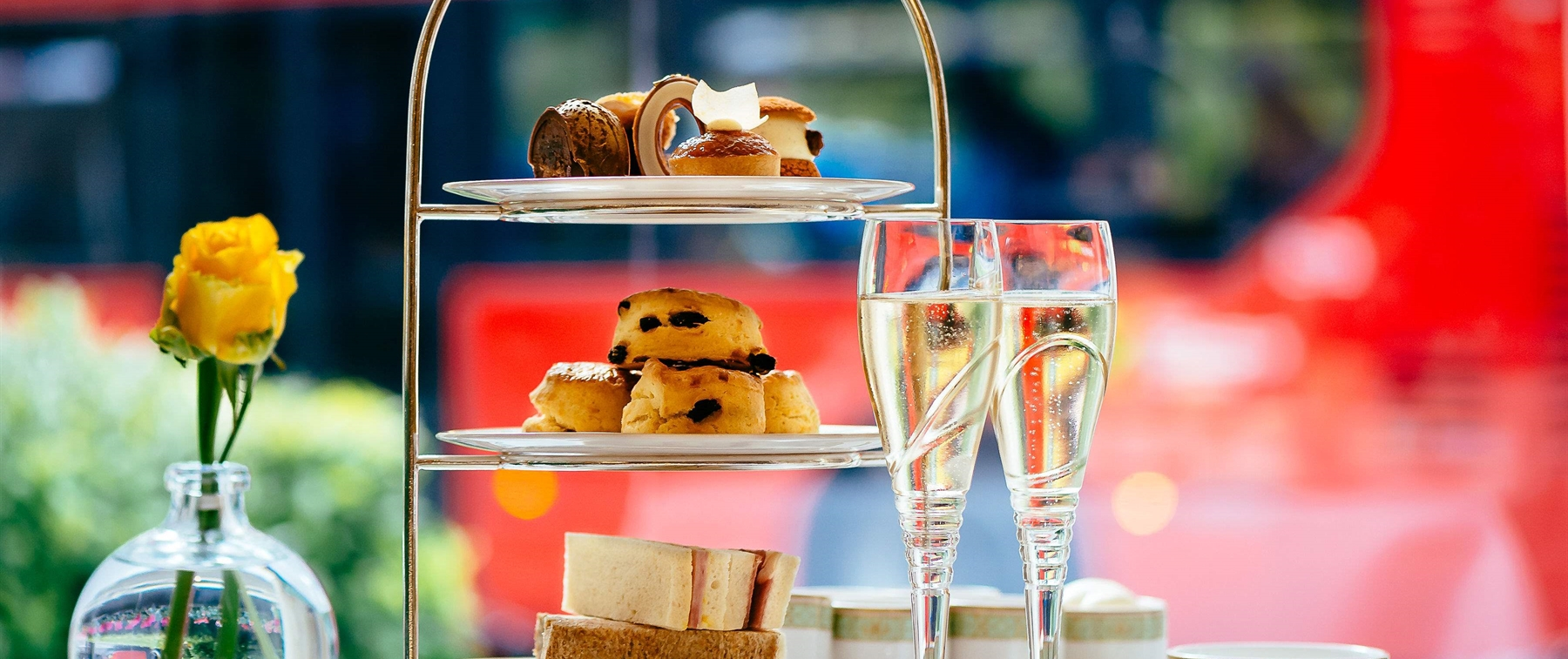 Afternoon Tea in The Park Room at JW Marriott Grosvenor House London